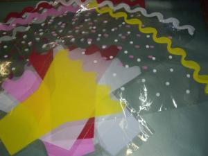 пластиковая упаковка для цветов
